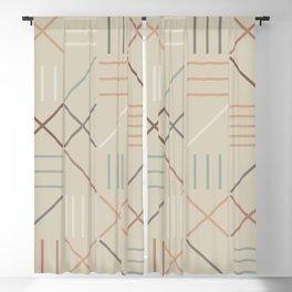 Geometric Shapes 05 Blackout Curtain