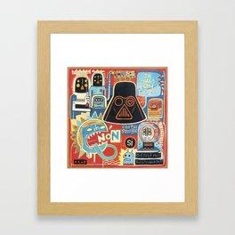 Je suis ton père  Framed Art Print
