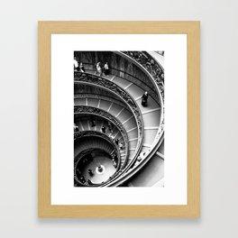 Vatican Stairway Framed Art Print