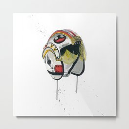 Empty Mask - Rebel Pilot Metal Print