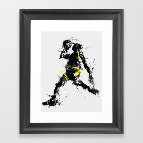 Anti gravity Framed Art Print
