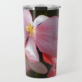 Begonia in the Rose Garden Travel Mug