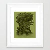 atlas Framed Art Prints featuring Atlas by Nick Volkert