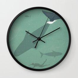 Underwater world Wall Clock