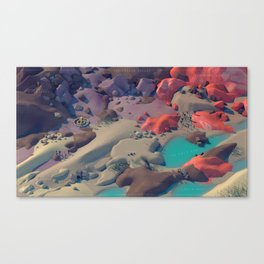 The Cradle Valley Canvas Print