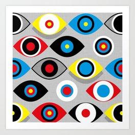 Eye on the Target Art Print