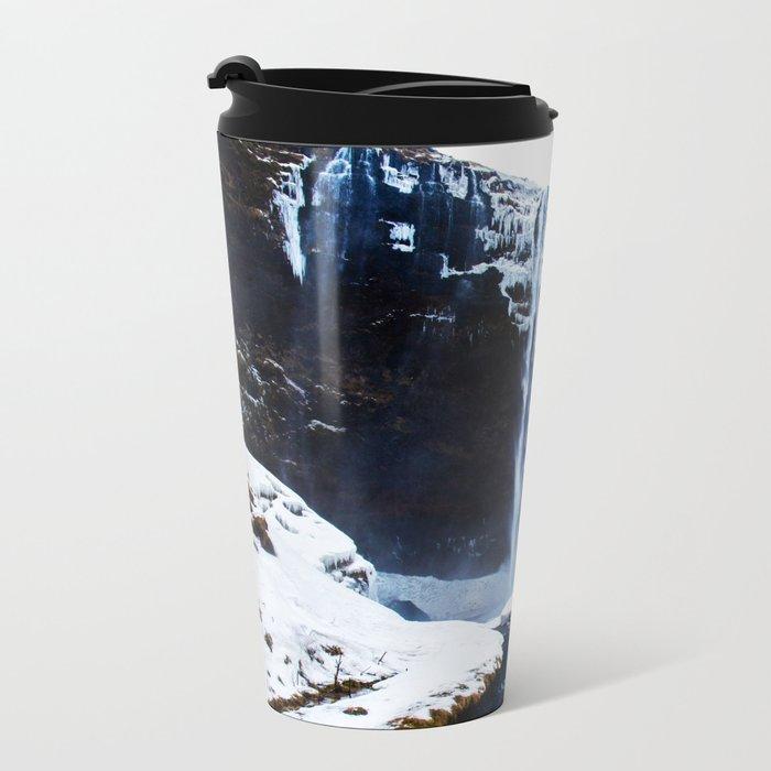 Iceland Metal Travel Mug