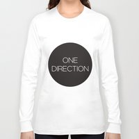 one direction Long Sleeve T-shirts featuring One Direction by harrystyless