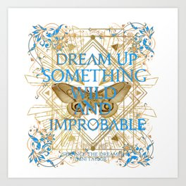 dream something Art Print