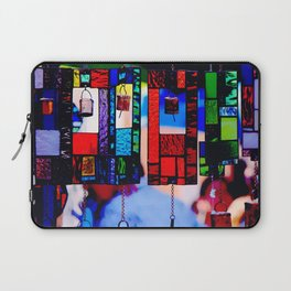 Glass Wind Chimes Laptop Sleeve