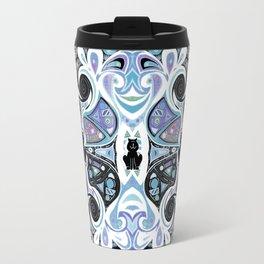 Symmetrical Cat (146i) Travel Mug