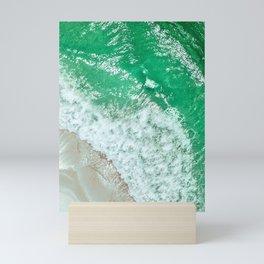 Emerald Sea Mini Art Print
