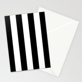 Vertical Stripes Large Stationery Cards