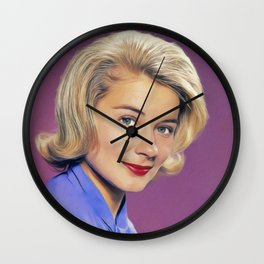 Hope Lange, Vintage Actress Wall Clock