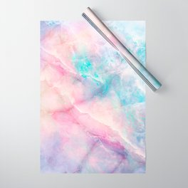 Iridescent marble Wrapping Paper