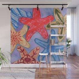 Ornamental Starfish Wall Mural
