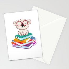 Reading Koala Stationery Cards