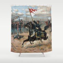 Sheridan's Ride -- Civil War Shower Curtain