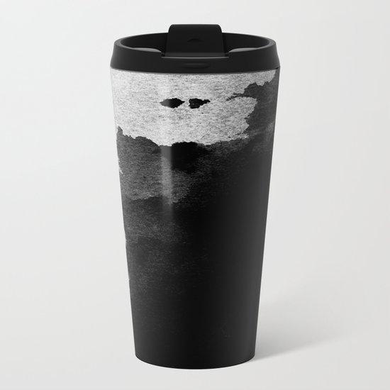 Watercolor Metal Travel Mug