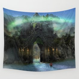 The Jade Gates Wall Tapestry