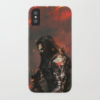 blood iPhone & iPod Cases featuring Blood in the Breeze by Alice X. Zhang
