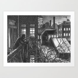 The last washed Art Print