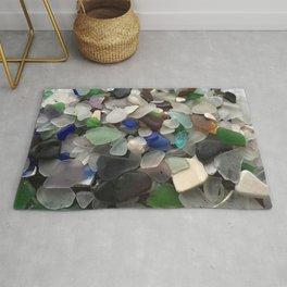 Sea Glass Assortment 1 Rug