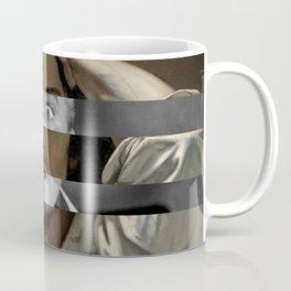 Courbet's The Desperate man & James Stewart Coffee Mug