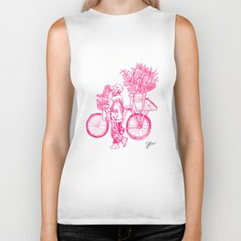 Bicycle Flower Seller in Hanoi Biker Tank