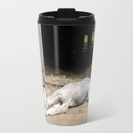 Naptime for Romeo Travel Mug