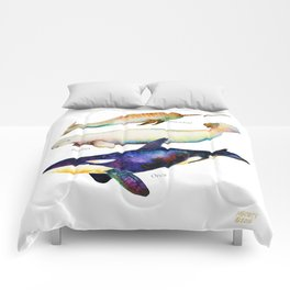 Best Buddies - Narwhal, Beluga & Orca Killer Whales Comforters