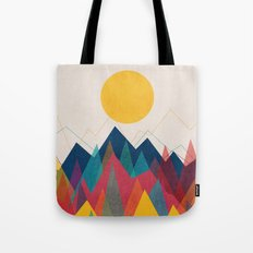 Uphill Battle Tote Bag