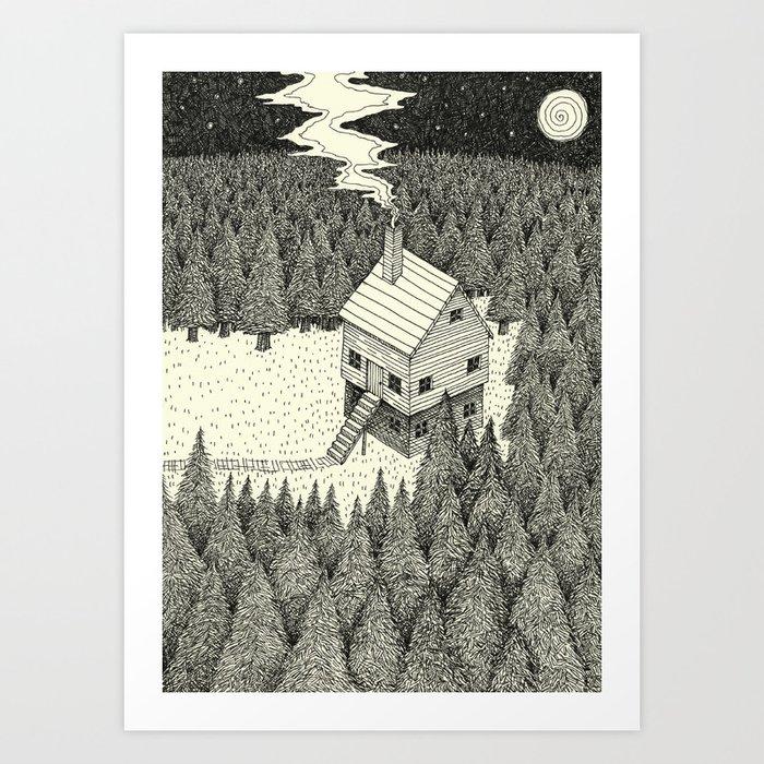 'The Middle Of Nowhere'  Kunstdrucke