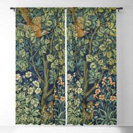 Cock Pheasant (1916) by William Morris and John Henry Dearle Blackout Curtain
