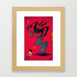 Mister Boogey Framed Art Print