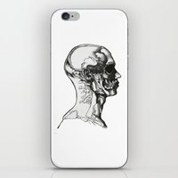 greys anatomy iPhone & iPod Skins featuring Anatomy  by Cjillustrations