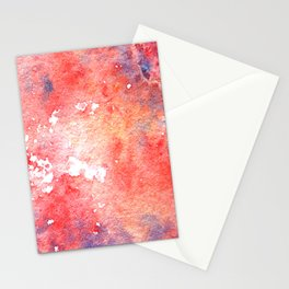 Symphony in red minor I Stationery Cards
