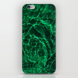 The Green Dive iPhone Skin