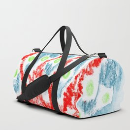 crazy fruits Duffle Bag
