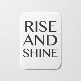 Rise and Shine Bath Mat