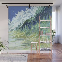 Surf's Up Big Wave Juul Art Wall Mural