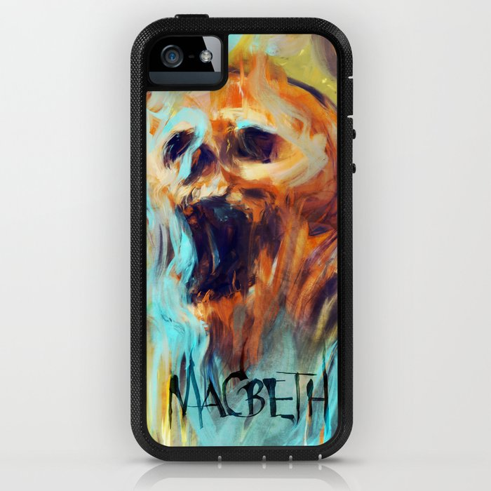 Macbeth Poster - Original Art by Kyle T. Webster iPhone Case