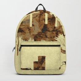 Ramat Gan Israel Cityscape Backpack