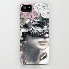 Flower woman iPhone Case