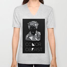 A Multifaceted Conor Oberst Unisex V-Neck