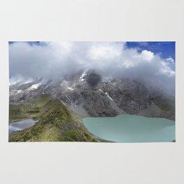 Montañas puras Rug