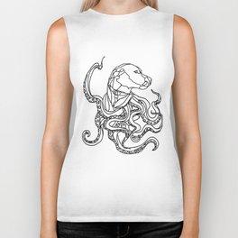 Octopus Dog Biker Tank