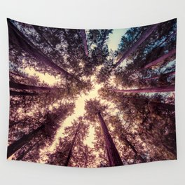 Reaching the Sky Wall Tapestry