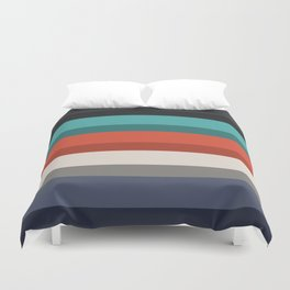 Accordion Fold Series Style F Duvet Cover