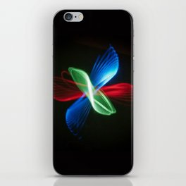 Parabola III (Butterfly) iPhone Skin